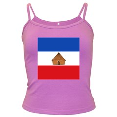 Flag Of Southern Nations, Nationalities, And Peoples  Region Of Ethiopia Dark Spaghetti Tank