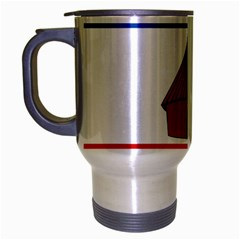 Flag Of Southern Nations, Nationalities, And Peoples  Region Of Ethiopia Travel Mug (silver Gray)