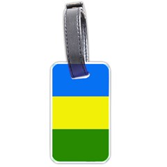 Flag Of Beja Congress Luggage Tags (one Side)