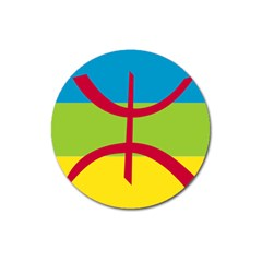 Berber Ethnic Flag Magnet 3  (round) by abbeyz71