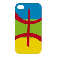 Berber Ethnic Flag Apple Iphone 4/4s Hardshell Case