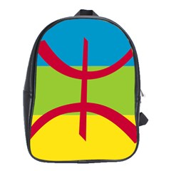 Berber Ethnic Flag School Bag (xl)