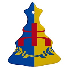 Flag Of Kabylie Region Ornament (christmas Tree)