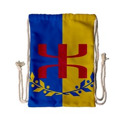 Flag Of Kabylie Region Drawstring Bag (small)