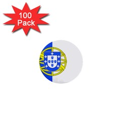 Proposed Flag Of Portugalicia 1  Mini Buttons (100 Pack)