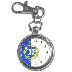Proposed Flag Of Portugalicia Key Chain Watches