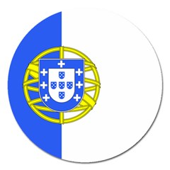 Proposed Flag Of Portugalicia Magnet 5  (round) by abbeyz71