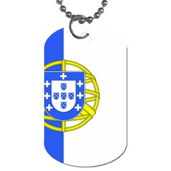 Proposed Flag Of Portugalicia Dog Tag (two Sides)