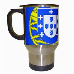 Proposed Flag Of Portugalicia Travel Mugs (white) by abbeyz71