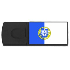 Proposed Flag Of Portugalicia Rectangular Usb Flash Drive