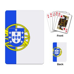 Proposed Flag Of Portugalicia Playing Cards Single Design by abbeyz71