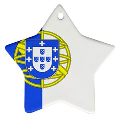 Proposed Flag Of Portugalicia Star Ornament (two Sides)