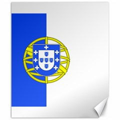 Proposed Flag Of Portugalicia Canvas 8  X 10