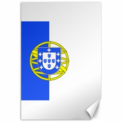 Proposed Flag Of Portugalicia Canvas 12  X 18