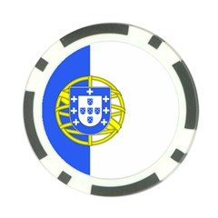 Proposed Flag Of Portugalicia Poker Chip Card Guard