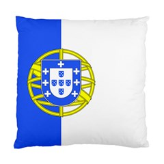 Proposed Flag Of Portugalicia Standard Cushion Case (two Sides)