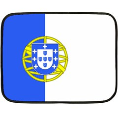 Proposed Flag Of Portugalicia Double Sided Fleece Blanket (mini)