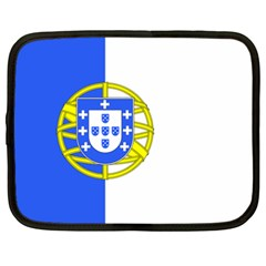 Proposed Flag Of Portugalicia Netbook Case (xxl)