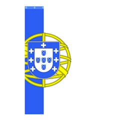 Proposed Flag Of Portugalicia Shower Curtain 48  X 72  (small)  by abbeyz71