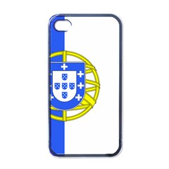 Proposed Flag Of Portugalicia Apple Iphone 4 Case (black)