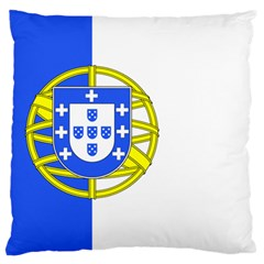 Proposed Flag Of Portugalicia Large Cushion Case (one Side)