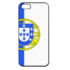 Proposed Flag Of Portugalicia Apple Iphone 5 Seamless Case (black)