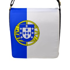 Proposed Flag Of Portugalicia Flap Closure Messenger Bag (l)