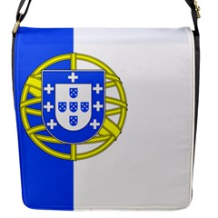 Proposed Flag Of Portugalicia Flap Closure Messenger Bag (s)