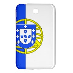 Proposed Flag Of Portugalicia Samsung Galaxy Tab 3 (7 ) P3200 Hardshell Case