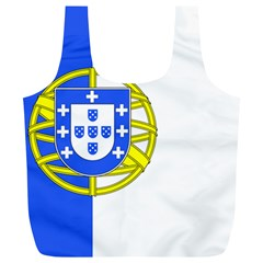 Proposed Flag Of Portugalicia Full Print Recycle Bag (xl)