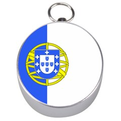 Proposed Flag Of Portugalicia Silver Compasses