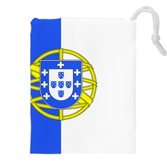 Proposed Flag Of Portugalicia Drawstring Pouch (xxl)