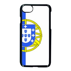 Proposed Flag Of Portugalicia Apple Iphone 7 Seamless Case (black)