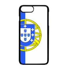 Proposed Flag Of Portugalicia Apple Iphone 8 Plus Seamless Case (black)