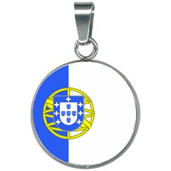 Proposed Flag Of Portugalicia 20mm Round Necklace