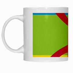 Kabylie Flag Map White Mugs