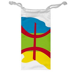 Kabylie Flag Map Jewelry Bag