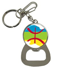Kabylie Flag Map Bottle Opener Key Chains by abbeyz71