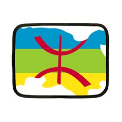 Kabylie Flag Map Netbook Case (small)