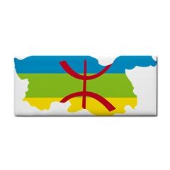 Kabylie Flag Map Hand Towel