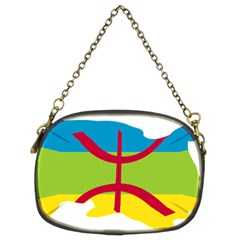 Kabylie Flag Map Chain Purse (two Sides)