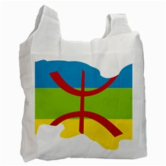 Kabylie Flag Map Recycle Bag (one Side)