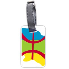 Kabylie Flag Map Luggage Tags (two Sides)