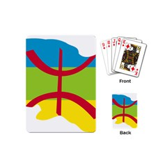 Kabylie Flag Map Playing Cards (mini)