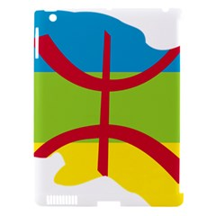 Kabylie Flag Map Apple Ipad 3/4 Hardshell Case (compatible With Smart Cover)