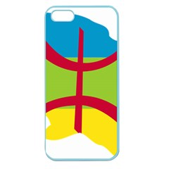 Kabylie Flag Map Apple Seamless Iphone 5 Case (color)