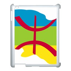 Kabylie Flag Map Apple Ipad 3/4 Case (white)