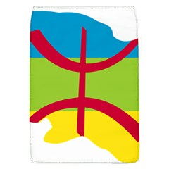 Kabylie Flag Map Removable Flap Cover (l)