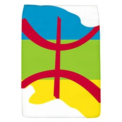 Kabylie Flag Map Removable Flap Cover (s)