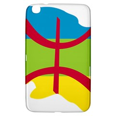 Kabylie Flag Map Samsung Galaxy Tab 3 (8 ) T3100 Hardshell Case